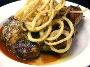 blue plate steak frites